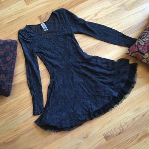 Free People Victorian lace skater dress
